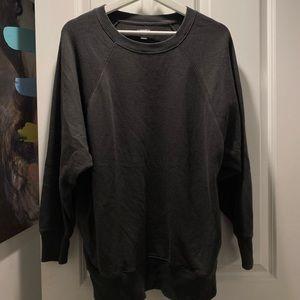 Aerie grey oversized warm sweater sweatshirt